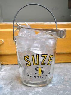 Vintage Suze Ice Bucket