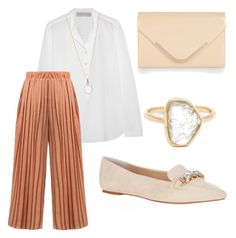Blush by charlottebrolin on Polyvore featuring polyvore, fashion, style, STELLA McCARTNEY, Carvela Kurt Geiger, Accessorize and Melissa Joy Manning