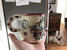 Queen of Hearts mug side 1