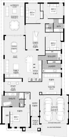 Needs some changes thp Washington Platinum floorplan : Nice! Needs some changes thp Washington Platinum floorplan Best House Plans, Dream House Plans, Modern House Plans, House Floor Plans, The Plan, How To Plan, Building Plans, Building A House, Home Design Floor Plans