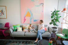 Miranda Skoczek — Artist, Apartment & Studio, Elwood, Melbourne — http://www.freundevonfreunden.com/interviews/miranda-skoczek/