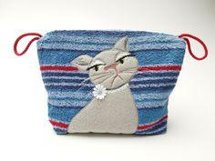Kulturbeutel - Kleine Katzen - Kosmetiktasche  - ein Designerstück von trullafabrik bei DaWanda