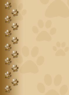puppy paw print wallpaper - Bing images