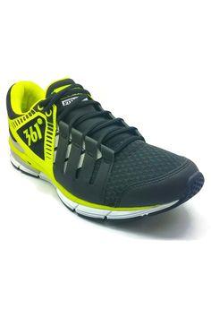 361 Degrees Impulse Cross Training Shoes (Black/Flash Yellow)