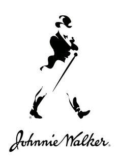 Johnnie walker silhouette