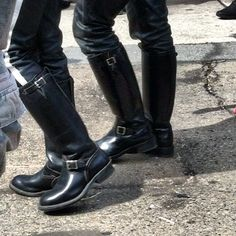 Even more boots@ the fair Tall Leather Boots, Tall Boots, Leather Men, Shoe Boots, Shoes, Men Boots, Mens Boots Fashion, Dress With Boots, A3