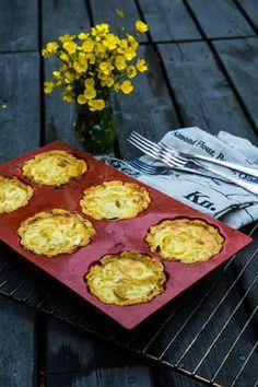 Lök-kikletter Tasty, Yummy Food, Gluten Free Recipes, Free Food, Muffin, Eggs, Cooking, Breakfast, Cuisine