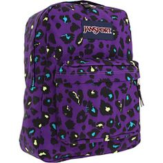 Superbreak® by JanSport Mochila Jansport, Jansport Backpack, Backpack Bags, Vans Backpack, Laptop Backpack, Cute Backpacks, Girl Backpacks, Back To School Backpacks, Animal Bag