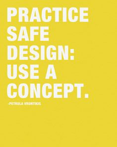 Pratice Safe Design: Use a Concept Art Print #design #poster #art
