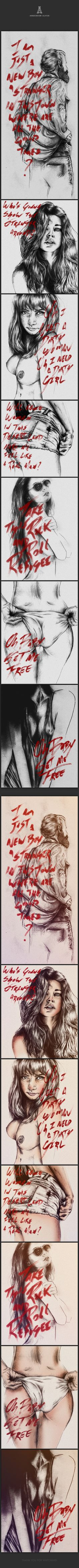 Young Lust by Anderson Alves, via Behance
