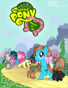 My Little Pony Wizard of Oz My Little Pony Poster, My Little Pony Games, My Little Pony List, My Little Pony Friendship, Draw Your Oc, My Little Pony Wallpaper, Mlp Characters, Cute Ponies, Fandom Crossover