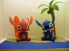 Quilling - 3D Disney Stitch