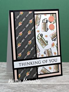 The best things in life are Pink.: Carta Bella's Spring Market - 34 cards from one 6x6 paper pad
