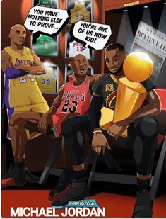 Image result for kobe jordan lebron you're one of us now