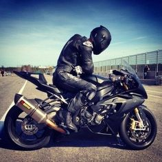 Carbon BMW S1000RR, blacked out. dream gas powered bike.
