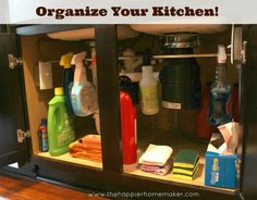 Good idea to store my for homemade nontoxic cleaners