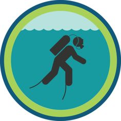 Scuba Diving Badge.