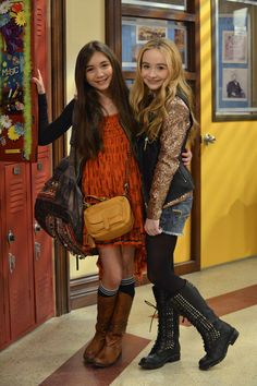Blanchard and Carpenter in Girl Meets World