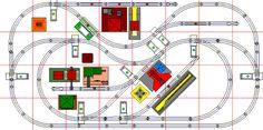 Animated O Gauge Layout Plans