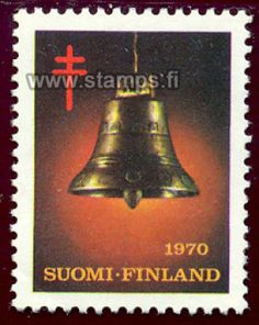 1970 Joulukello Stamp Collecting, Postage Stamps, Paper, Prints, Seals, Historia, Finland, Stamps, Printmaking
