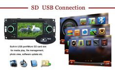 In Dash 2002 2003 2004-2008 Dodge RAM Pickup VAN aftermarket car stereo navigation system sd usb This cheap Autoradio GPS Navigation System is specific to:  2002 2003 2004 2005 2006 2007 2008 Dodge RAM Pickup 2002 2003 Dodge RAM VAN (Fullsize)