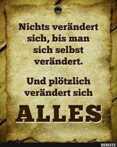 Make the world a better Place Challenge! Wise Quotes, Words Quotes, Inspirational Quotes, Sayings, The Words, Cool Words, German Quotes, German Words, Funny Quotes About Life