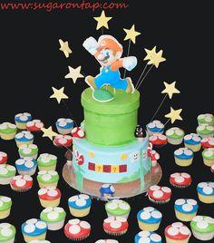 Super Marios Bros Cake — Children's Birthday Cakes