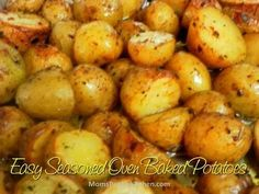 Easy Seasoned Oven  Baked Potatoes
