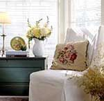 Here's how to care for some of the more common types of blinds, shutters, and shades. Types Of Blinds, Interior Shutters, Clean Freak, Homekeeping, Roman Shades, Clean House, Window Treatments, Accent Chairs, Household Tips