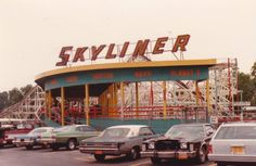"""Roseland Amusement Park in Canandaigua, NY (closed 1985) An """"All you can ride"""" bracelet for one whole day every summer, Thanks, Grandma!"""