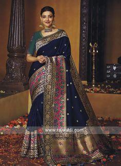 Kanjivaram Sarees, Art Silk Sarees, Silk Sarees With Price, Bollywood Designer Sarees, Wedding Saree Collection, Traditional Fashion, Half Saree, Beautiful Saree, Saree Blouse Designs