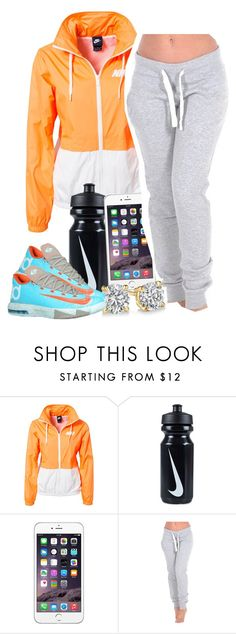 """Untitled #1272"" by lulu-foreva ❤ liked on Polyvore featuring NIKE"