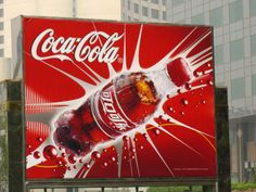 A Chinese Billboard Advertising Coca-Cola Photographic Print