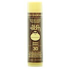 sun bum sunscreen lip balm spf 30   well