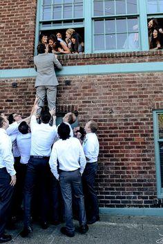 27 Awesome Groomsmen Photos You Can't Miss ❤ See more: http://www.weddingforward.com/groomsmen-photos/ #weddings