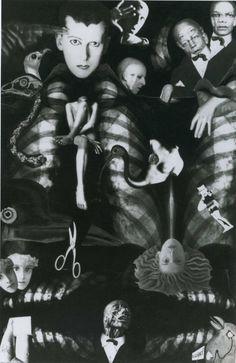 Claude Cahun et Marcel Moore, Aveux non avenus, Planche VIII, photomontage, 1929-1930