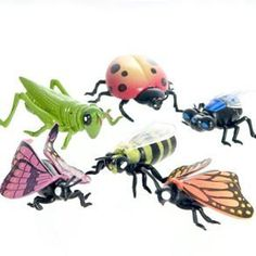 """Insect Finger Puppets by Century Novelty. $5.95. Icky Insect Fun with Creepy Crawly Creatures! Be prepared for creepy crawly fun with Insect Finger Puppets. Give your guests a one of a kind insect toy like this. A dozen finger puppets per package. 1 3/4"""" long and 2 3/4"""" wide. Made of plastic. Assorted styles. There is an insect invasion headed for your home! Play with your very own insect, or even use them to scare your friends. Realistic plastic insects are perfect..."""