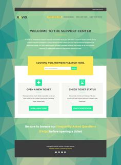 Custom Bootstrap osTicket Theme  by wpfiver on @creativework247