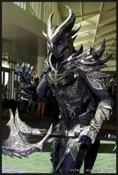 Elder Scrolls: Daedric Armor   MegaCon2014 #cosplay