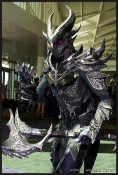Elder Scrolls: Daedric Armor | MegaCon2014 #cosplay