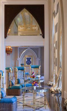 Jumeirah Zabeel Saray Hotel, Dubai designed by Engin Urun of ARKETIPOdesign :: Sultans lounge