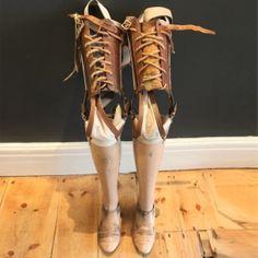 Vintage Prosthetic Legs
