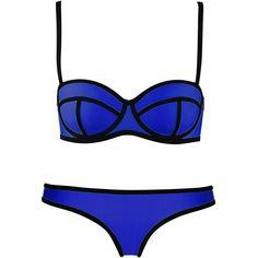 Imilan Push up Neoprene Diving Suit Bright Bling Bikini Set Swimsuit... ($11) ❤ liked on Polyvore featuring swimwear, bikinis, bathing suits, swim, swim suits, swimsuit, bikini swimsuit, push-up bikinis, neoprene swimsuit and bikini swimwear