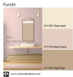 Une ambiance #pastel qui donne la part belle aux lignes épurées du mobilier et des accessoires. www.chromaticstore.com