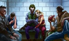 Joker and Harley Quinn 620x370 Suicide Squad Rumor: Harley Quinns Backstory, Costumes & Joker Connection