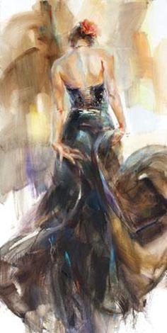 Flamenco -by Anna Razumovskaya ♥