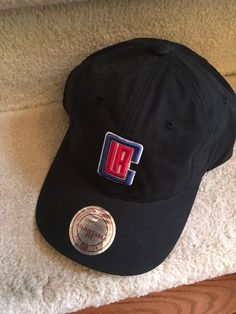 95243cd2ae6 Embroidered Los Angeles Clippers logo at front