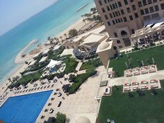 View from the St. Regis Hotel Doha