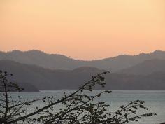 Sunset over Papagayo, Guanacaste, Costa Rica.