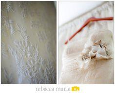 Bride's Dress Details #Wedding #Details @Christina & Marie